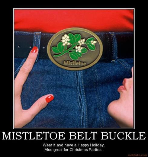 mistletoe buckle