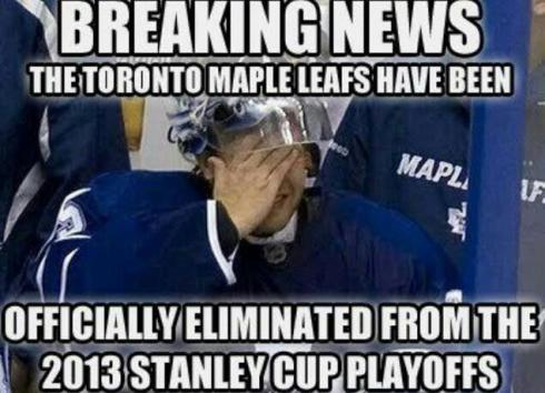 maple leafs lol