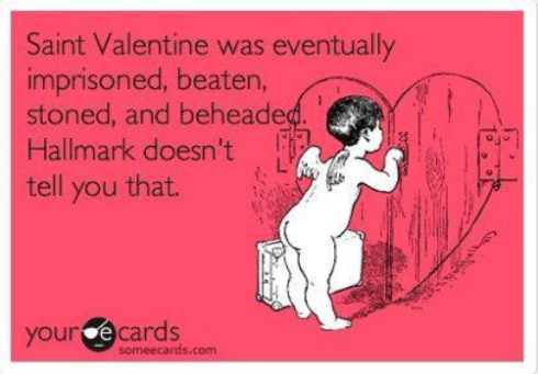 saint valentine lol