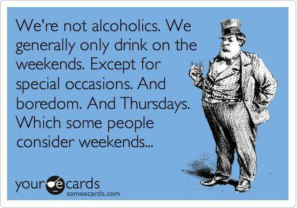 alcoholics lol