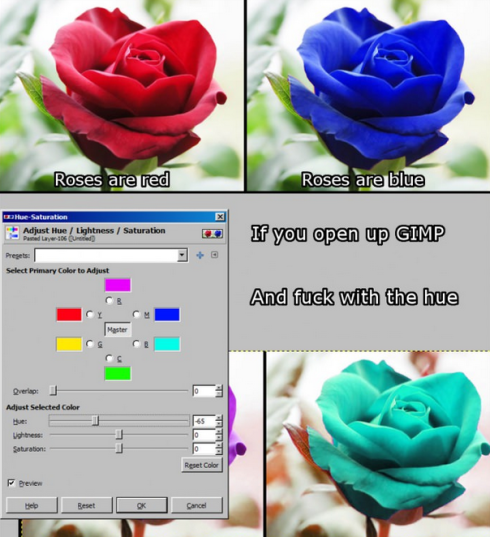 roses hue lol