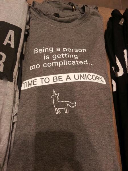 unicorn tshirt lol
