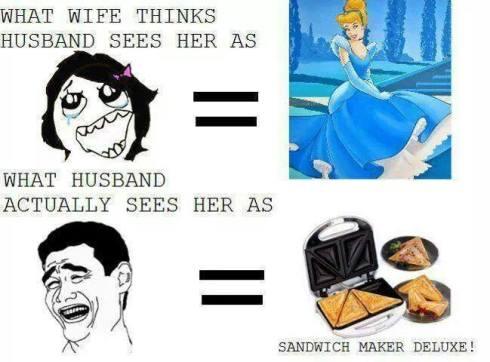 wife sandwichmaker lol