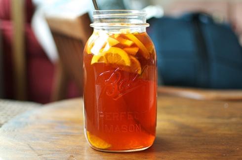bourbon and tea