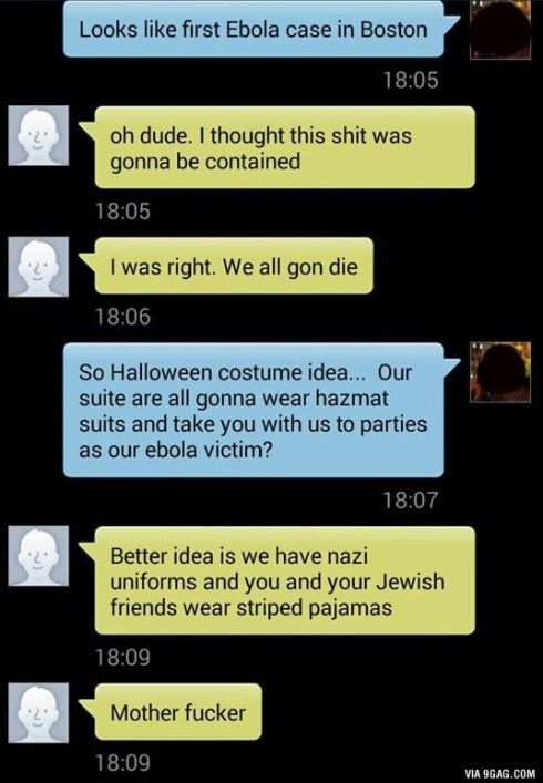 ebola costume lol