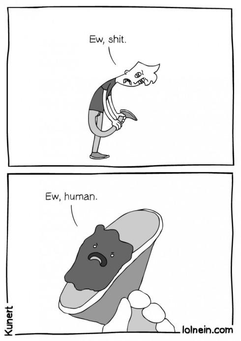 ew human lol