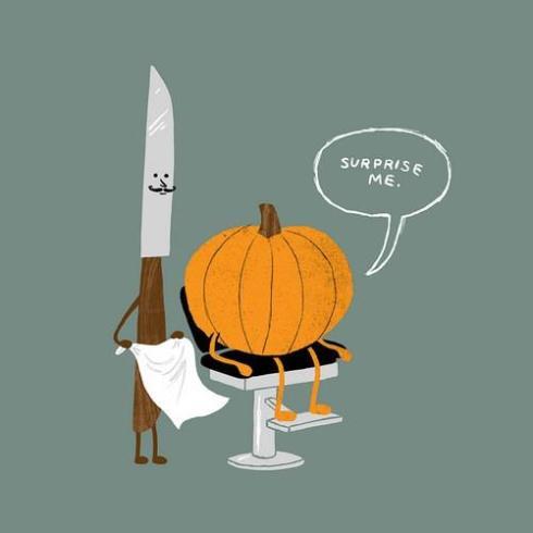 pumpkin shave lol