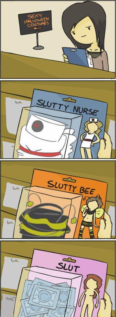 slutty costume lol