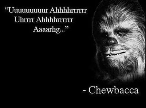 chewie quote lol
