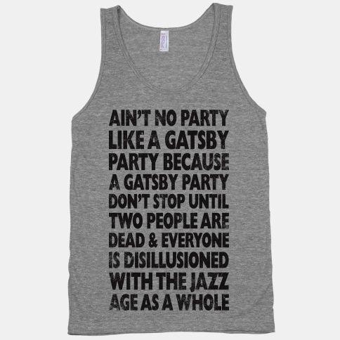 gatsby shirt lol
