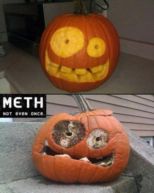 meth pumpkin lol