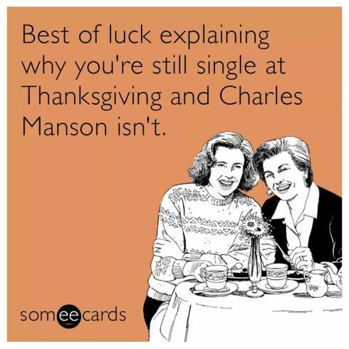 thanksgiving manson lol