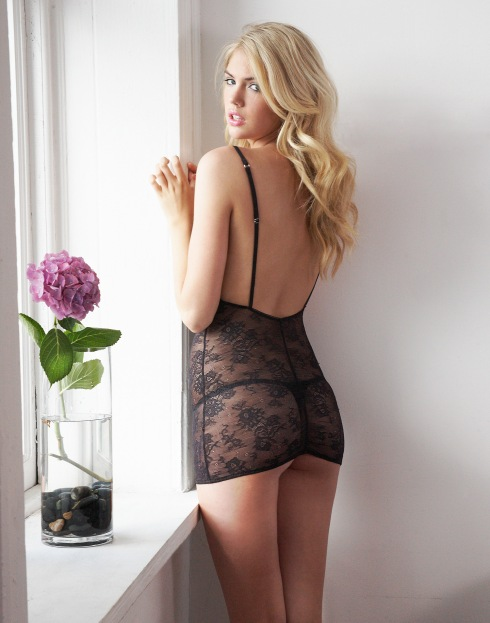 Kate Upton for Jenna Leigh Lingerie - photographed by Michael Da