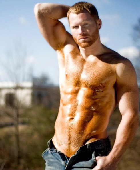 ginger guy sexy 1